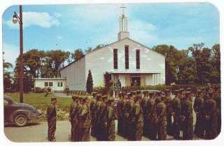 Geneva, NY, Postcard, Sampson Air Force Base, Military