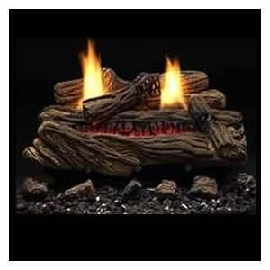 Monessen DLX Aged Split Vent Free Propane Gas Logs