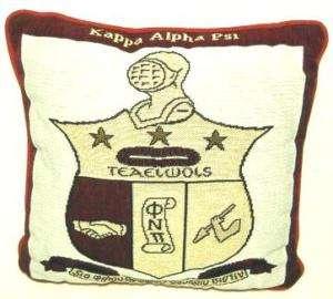 KAPPA ALPHA PSI Throw Pillow   new