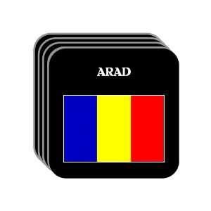 Romania   ARAD Set of 4 Mini Mousepad Coasters