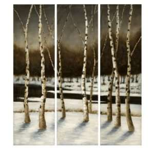 Valdis Forest Landscape Three Canvas Oil Painting Home