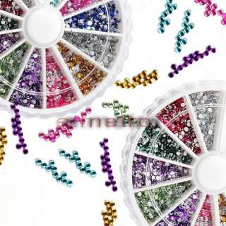 description 10pcs 1 5mm nail art rhinestones wheel with amazing