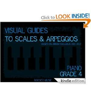 Visual Guides to Scales and Arpeggios Piano Grade 4: Charles Wu