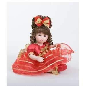 Marie Osmond Winter Glow Tiny Tot Porcelain Doll