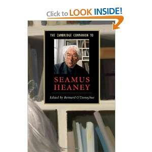 The Cambridge Companion to Seamus Heaney (Cambridge Companions to