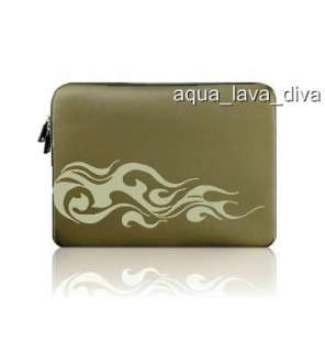 Green Laptop Sleeve Case Cover/ Protective Soft Bag For Android Tablet