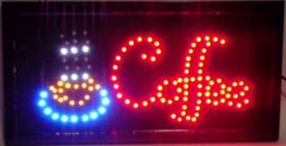 LED Open,Cafe,Coffee,Bar,Pub,Club Neon SIGN ANIMATE New Design making