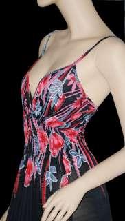 New Floral Ladies Long Maxi Dress Evening Summer Dress