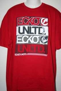 NEW ECKO UNLTD. ROCK BOX TEE T SHIRT 2X 2XL XXL 2XB