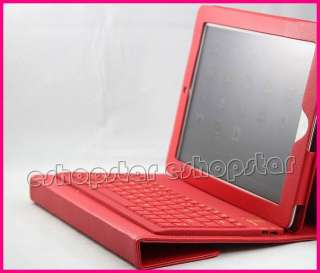 Wireless Bluetooth Keyboard With Leather Case Stand Cover for Apple