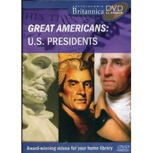 BRITANNNICA GREAT AMERICANS U.S. PRESIDENTS DVD Software