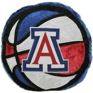 Arizona Wildcats 14 Team Logo Basketball Plush Pillow