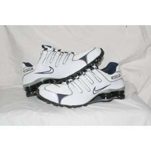 Nike Shox NZ White/Blue/Grey Men Size 9.5