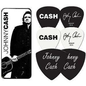 Johnny Cash The Man in Black Sun Records Guitar Picks and