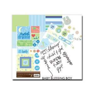 Paper, Stickers, Rub Ons, Ect.  Boy Baby Blessing, Baby Shower, Baby