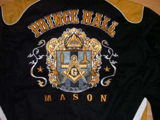 Prince Hall Mason Jacket F&AM L  6XL Freemason Coat NEW