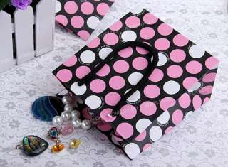 Dots Rectangle Paper Carrier Gift Present Packing Bag 5.9x5.2 FASHION