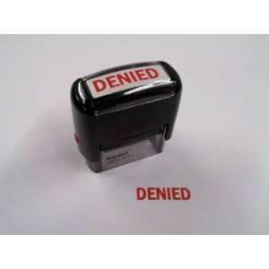 DENIED Self Inking RED Stamp   High Quality Baby