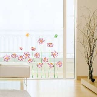wall paper decals stickers mural decal art removable flower butterfly