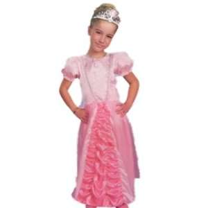 Girls Pink Ballroom Princess Costume Gown 5 7: Toys & Games