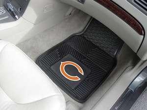 Chicago Bears 2 Pc Vinyl Car & Truck Front Floor Mats 18x27