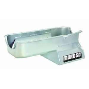 Moroso 20194 8.25 Oil Pan with Tray for Chevy Small Block