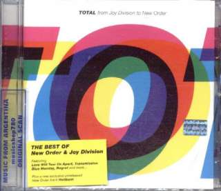 TOTAL FROM JOY DIVISION TO NEW ORDER, THE BEST OF. FACTORY SEALED CD