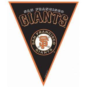 Amscan San Francisco Giants Baseball Pennant Banner