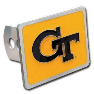 Georgia Tech Yellow Jackets Logo Only Trailer Hitch Cover