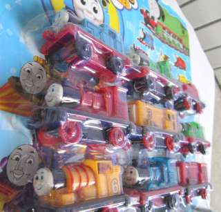 Set of 10pcs Super Thomas Train Pull Back Car Toy #6769