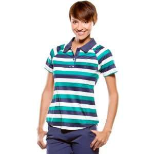 Oakley Tourney Stripe Polo Womens Short Sleeve Fashion