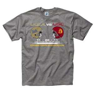 USC Trojans vs UCLA Bruins 2011 Match up T Shirt: Sports