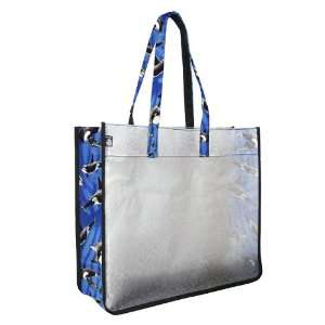 Orca Killer Whales Whale Beach Stadium Tote by Broad Bay