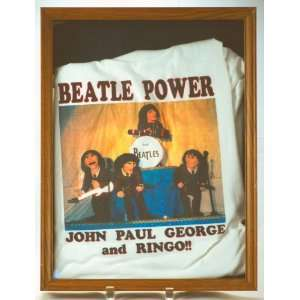 Beatle Power  John / Paul / George / Ringo   XL T Shirt   100% Cotton