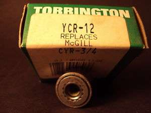 Torrington YCR 12, Yoke Roller; (McGILL CYR 3/4)