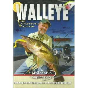 Lindners WALLEYE   THE LOCATION FACTOR DVD Movies & TV