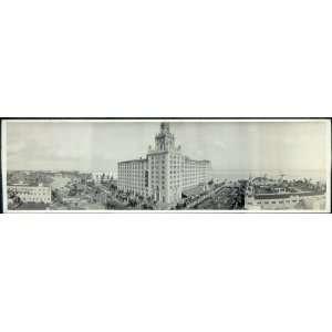 of Roney Plaza Hotel, Miami Beach, Fla., Jan. 1, 1930: Home & Kitchen