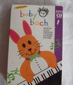 BABY BACH MUSICAL ADVENTURE VHS