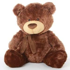 , GIANT TEDDY Warm Chestnut Brown, Stuffed Teddy Bear Toys & Games