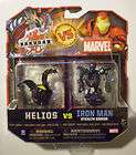 BAKUGAN BATTLE BRAWLERS vs MARVEL Razenoid Darkus Iron Man Haos items