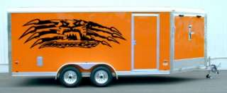 Arctic Cat Tear Trailer Graphics Decals Stickers 72x20