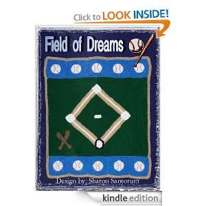 Field of Dreams Baby Afghan Crochet Pattern Sharon Santorum