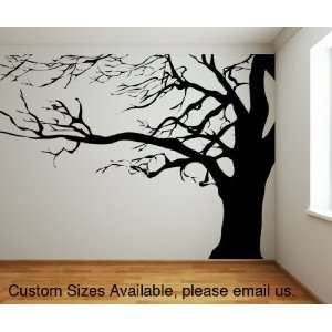 Vinyl Wall Decal Sticker Large Spooky Tree AC122