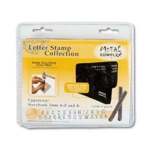 3mm Upper Case 27 pc. Storybook Alphabet Metal Stamp Set