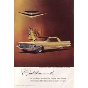 Print Ad 1962 Cadillac Sedan deVille Cadillac Books