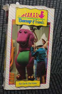 Barney & Friends Our Earth Our Home VHS Video Movie VTG