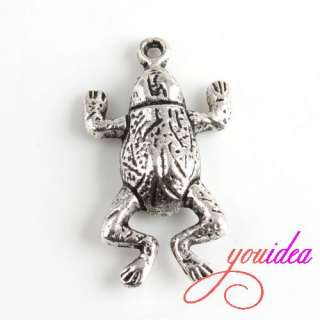 Lots Tibetan Silver Animal Zoo Charm Pendant Beads Fit Bracelet