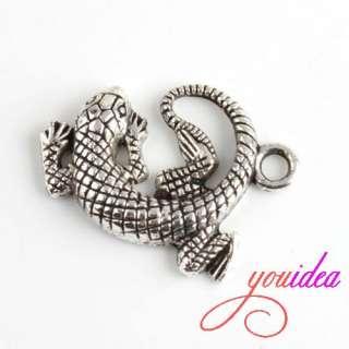 Lots Tibetan Silver Animal Zoo Charm Pendant Beads Fit Bracelet