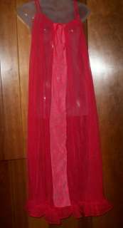 robe sheer nylon lace peignoir set m please look at all 1 3 pics 10