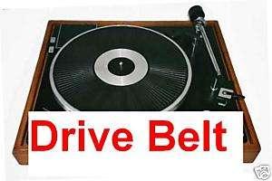 CONNOISSEUR TURNTABLE ROUND DRIVE BELTS BD1 BD2